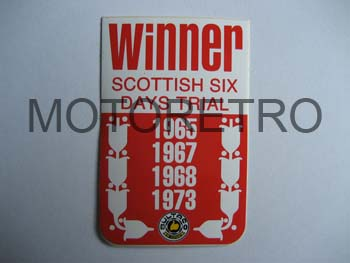 BU45 (Winner Scottish 1965-67-68-73)