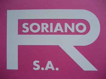 SO10 (leyenda R. SORIANO S.A. en color blanco y 85x56 mm)