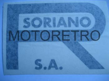 SO12 (leyenda R. SORIANO S.A. en color negro y 107x71 mm)